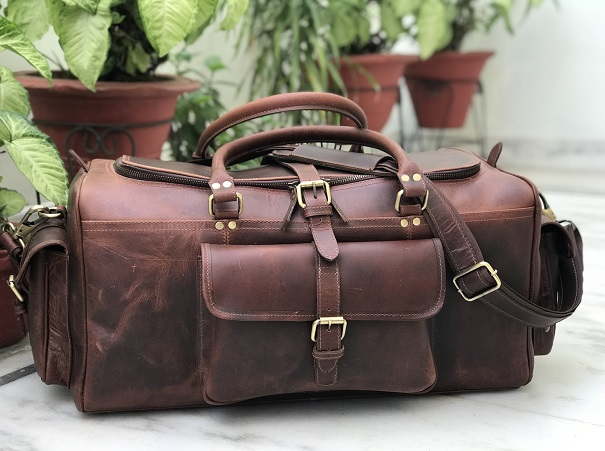 leather travel bags manufacturer in De-Smet